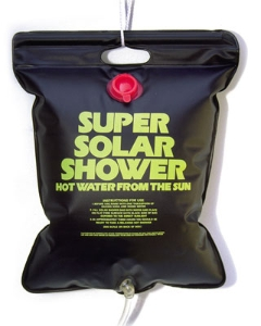 Relags solarshower, roll up, 20 L