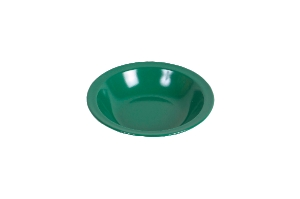 Waca melamine plate, deep green 600 ml