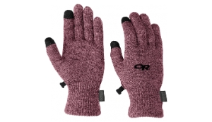 Outdoor Research Women's Biosensor Liners, mulberry