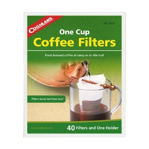 Coghlans one cup coffee filters