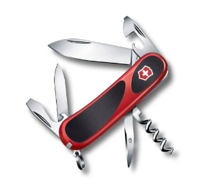 Victorinox EvoGrip 10, 85mm, Red/black