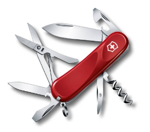 Victorinox Evolution 14, 85mm, Red