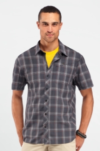 Icebreaker Departure Short Sleeve Shirt Plaid