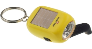 Rubytec KAO Swing Solar Flashlight jaune