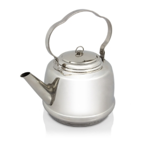 Petromax tea pot, stainless steel 3 L