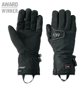 Outdoor Research Stormtracker Heated Gloves™ black