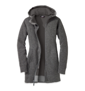 Outdoor Research Women's Salida Long Hoody™ Charcoal