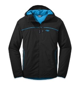 Outdoor Research Men's Razoredge Hooded Jacket™ black/tahoe