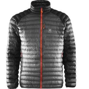 Haglöfs ESSENS MIMIC JACKET MEN Magnetite /True Black