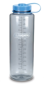 Nalgene bottle 'Everyday wide mouth Silo' - 1,5 L, gray tritan