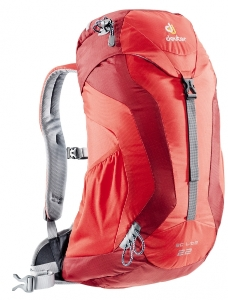 Deuter AC Lite 22 fire-cranberry