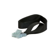 Relags strap w. metal buckle - 0,75 M, 18 mm, 2 pcs.