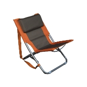 Relags Travelchair 'Beach' - orange/brown