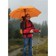 EuroSchirm umbrella 'teleScope handsfree' - orange , image 2