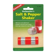 Coghlans salt / pepper shakers red