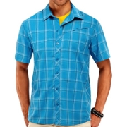 Icebreaker Departure Short Sleeve Shirt Plaid, image 3