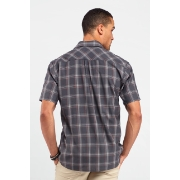 Icebreaker Departure Short Sleeve Shirt Plaid, image 2