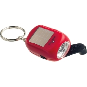 Rubytec KAO Swing Solar Flashlight  rood
