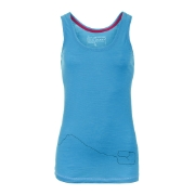 Orotvox  Merino Cool TANK TOP blue lagoon