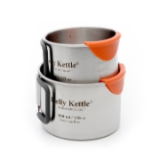 Kelly Kettle Camping Cup Set, 300 & 500 ml, image 2