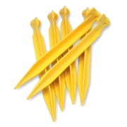 Coghlans ABS Tent Pegs, yellow, image 2