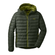 Outdoor Research Men's Transcendent Down Hoody™ evergreen/hops