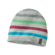 Outdoor Research Women's Terrace Beanie alloy stripe