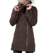 Bergans Kariel Lady Coat Solid Charcoal, image 4