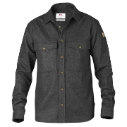 Fjällräven Övik Wool Shirt 030 Dark Grey